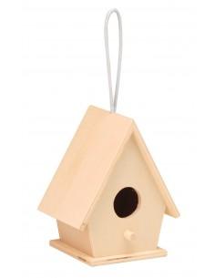 Maison d'oiseaux à un trou...