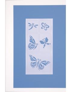 """Pochoir Adhésif """"Papillons""""..."""