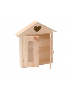 Boîte à clés en bois - 26.5...