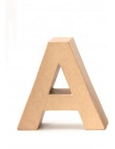 """Lettre """"A"""" en carton - 17.5..."""