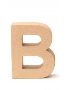 """Lettre """"B"""" en carton - 17.5..."""
