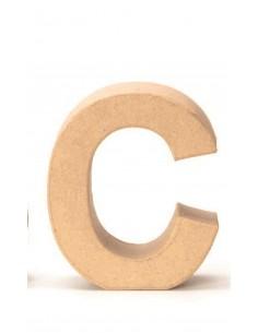 """Lettre """"C"""" en carton - 17.5..."""