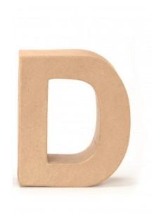 "Lettre ""D"" en carton - 17.5..."