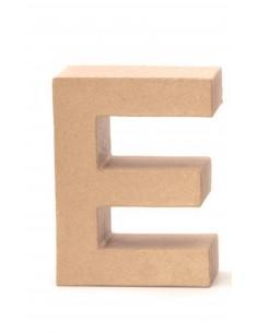 """Lettre """"E"""" en carton - 17.5..."""