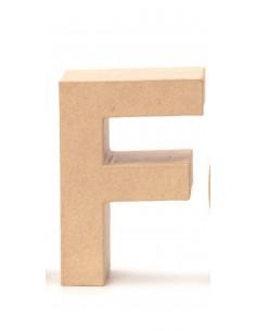 """Lettre """"F"""" en carton - 17.5..."""
