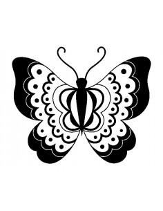 "Tampon en Bois ""Papillon"" -..."