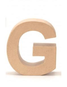 """Lettre """"G"""" en carton - 17.5..."""