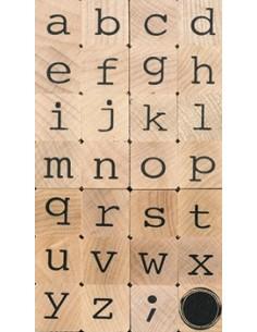 """Tampons en Bois """"Lettres"""" -..."""
