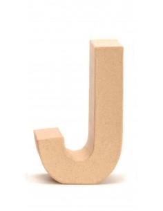 """Lettre """"J"""" en carton - 17.5..."""
