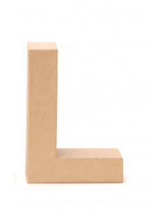 """Lettre """"L"""" en carton - 17.5..."""