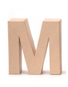 """Lettre """"M"""" en carton - 17.5..."""