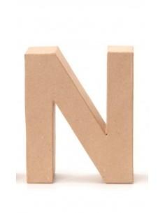"""Lettre """"N"""" en carton - 17.5..."""