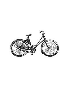 "Tampon en Bois ""Vélo"" - 3.7..."