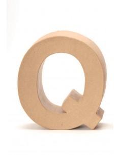 """Lettre """"Q"""" en carton - 17.5..."""