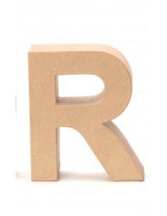 """Lettre """"R"""" en carton - 17.5..."""