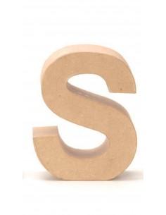 """Lettre """"S"""" en carton - 17.5..."""