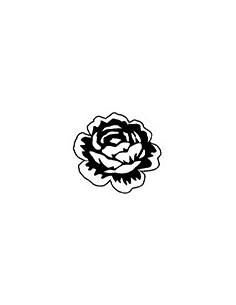 """Tampon en Bois """"Rose"""" - 3.7..."""