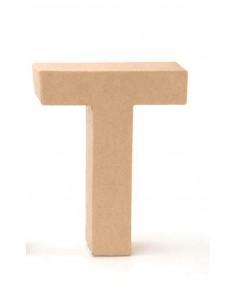 """Lettre """"T"""" en carton - 17.5..."""