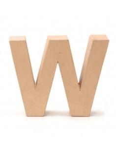 """Lettre """"W"""" en carton - 17.5..."""