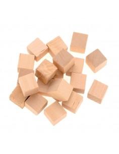 Cubes en bois - 1.5 cm