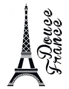 "Pochoir ""Tour Eiffel"" - 42..."