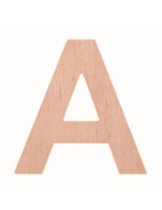 """Lettre """"A"""" en bois..."""