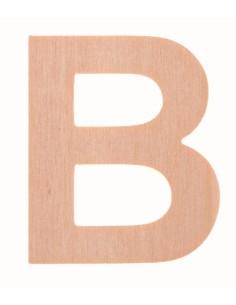 """Lettre """"B"""" en bois..."""