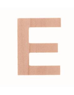 "Lettre ""E"" en bois..."