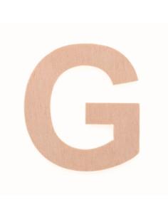 "Lettre ""G"" en bois..."