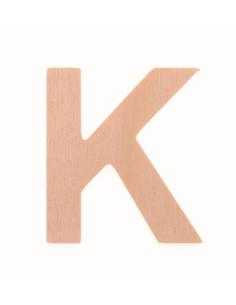 """Lettre """"K"""" en bois..."""