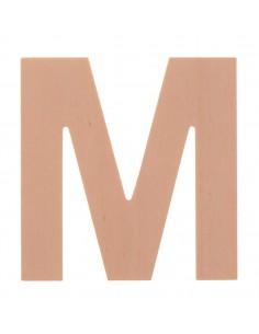 """Lettre """"M"""" en bois..."""
