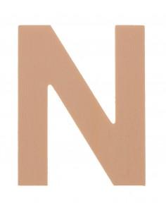 """Lettre """"N"""" en bois..."""