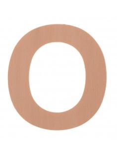 "Lettre ""O"" en bois..."