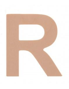 """Lettre """"R"""" en bois..."""