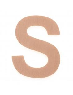 "Lettre ""S"" en bois..."