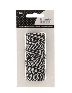 "Corde Twine ""Black & White""..."