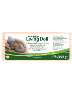 Super Sculpey Living Doll...