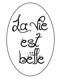"Relief pour Savon ""La vie..."