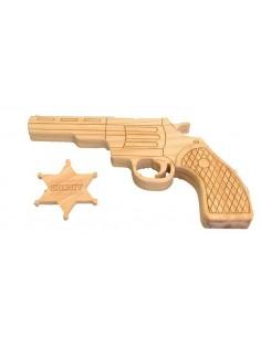Pistolet & Etoile du Shérif...