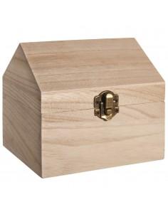 Caisse en bois en forme de...