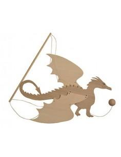 """Mobile en Bois """"Dragon"""" -..."""