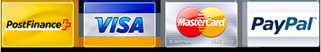 logos de paiement pour creadiy.ch
